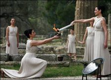 Olympic Torch Ceremony  - Greek Drama