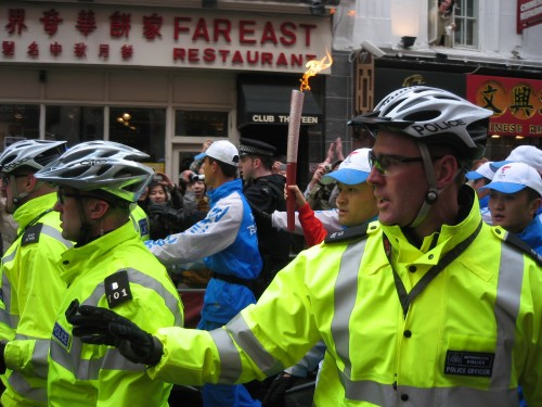 Torch Relay – High security